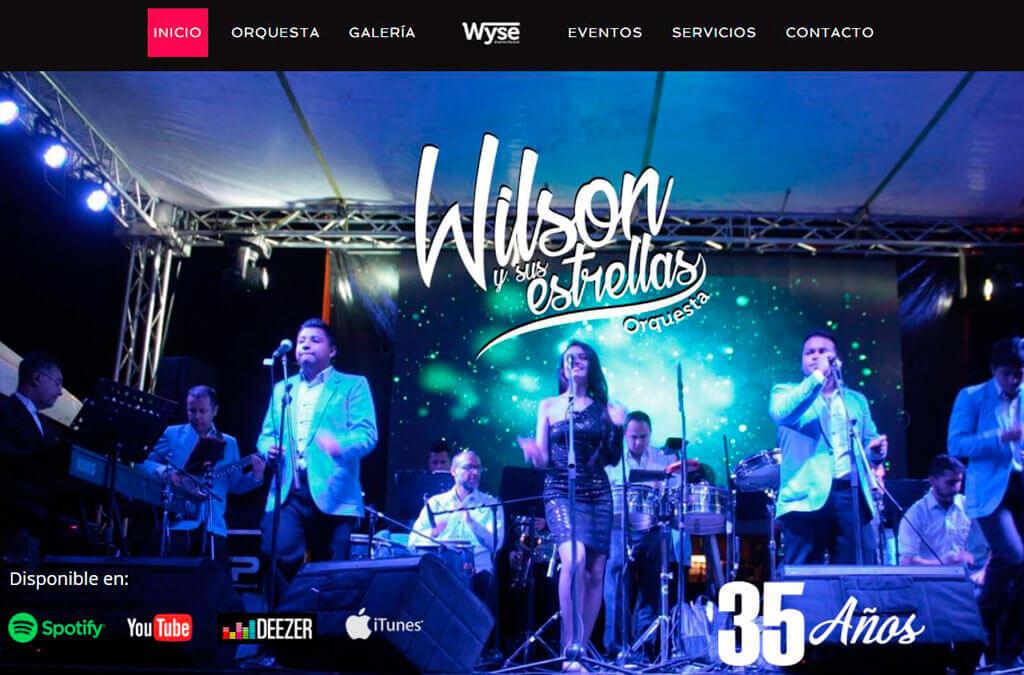 pagina web wilson y sus estrellas